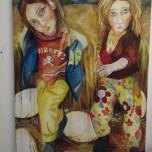 Treading on Eggs (2012) Oil on Canvas