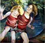 Join Us (2013) Oil on Canvas,