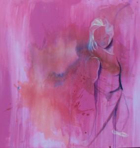 Trace Dance 1.7 (3) (2014) Acrylic on Canvas