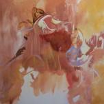 Trace Dance 1.1 (2014) Acrylic on Canvas