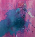 Trace Dance 1.7 (1) (2014) Acrylic on Canvas