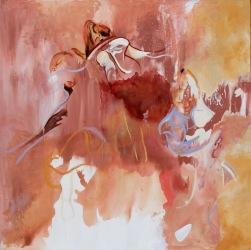 Trace Dance 1.1 (pre edit) (2014) Acrylic on Canvas