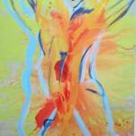 Trace Dance 1.4 (2014) Acrylic on Canvas