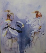 Trace Dance 1.3 (2014) Acrylic on Canvas