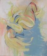 Trace Dance 1.6 (2014) Acrylic on Canvas